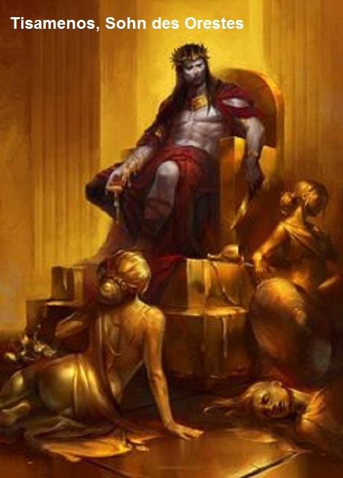 Tisamenos (Mythologie): Sohn des Orestes Tisame10