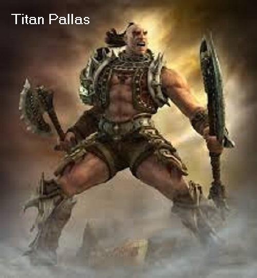 Titan Pallas (Mythologie): Achtung, nicht identisch mit der Kriegerin Pallas Titan_10