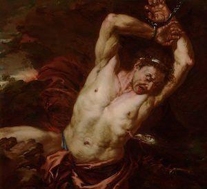 Tityos war ein Riese, der als großer Sünder im Tartaros gelandet ist Tityos10