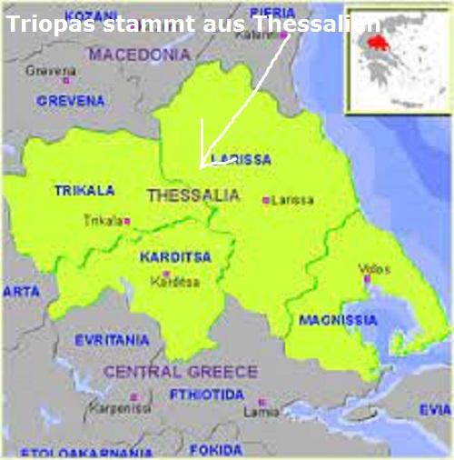 Triopas (Mythologie): Sohn des Poseidon und der Kanake Triopa11