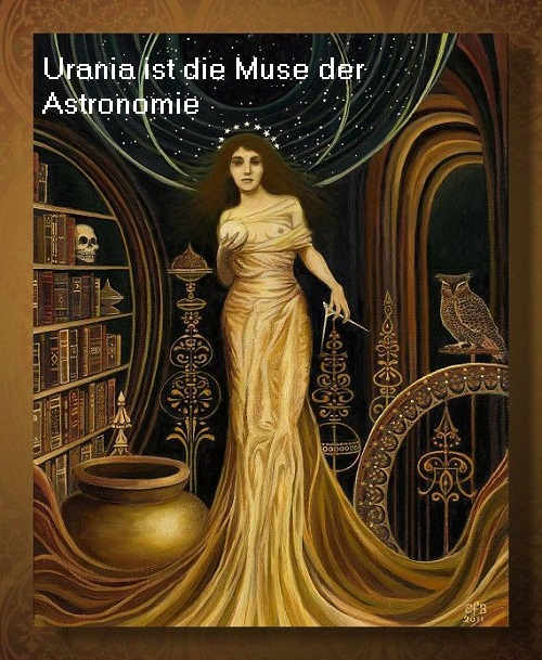 Urania (Mythologie): Muse der Astronomie (Sternkunde) Urania10