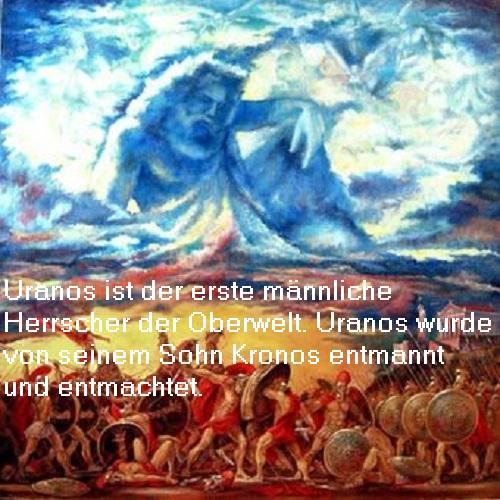 Uranos in der griechischen Mythologie: Himmel in Göttergestalt Uranos10