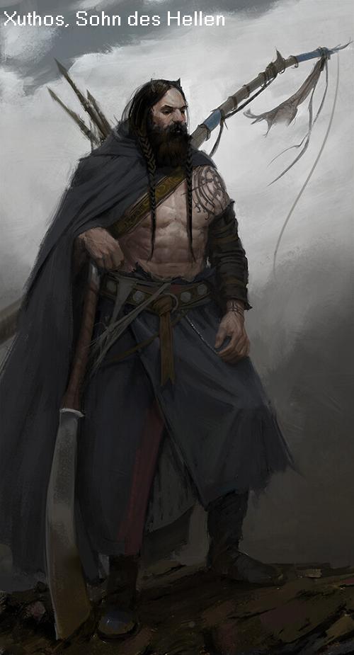 Xuthos (Mythologie): Sohn des Hellen und der Orseis Xuthos10