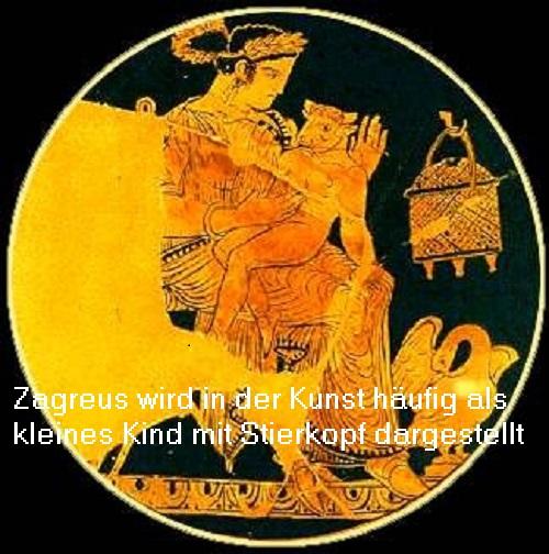 Zagreus (Mythologie): Sollte das göttliche Erbe des Zeus antreten, wurde jedoch von Titanen getötet Zagreu10