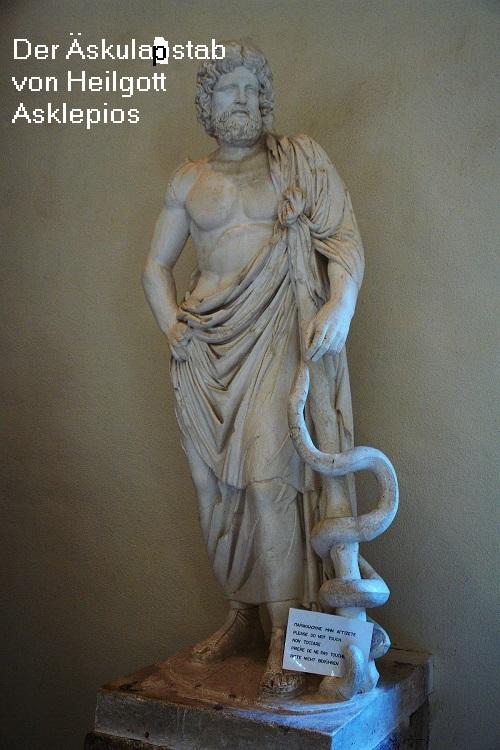 Äskulapstab (Mythologie): Stab des Asklepios Zaskul10