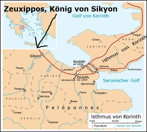 Zeuxippos (Mythologie): König von Sikyon Zeuxip10