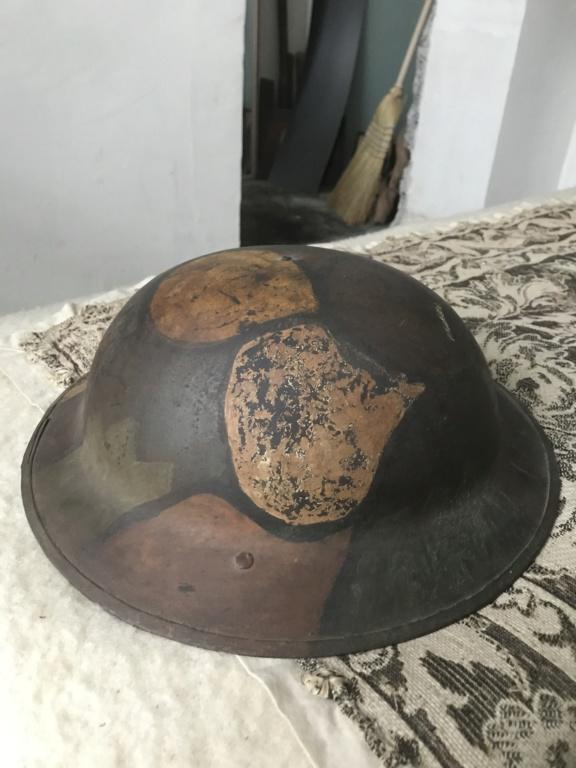 Camouflage casque anglais WW1 32849d10