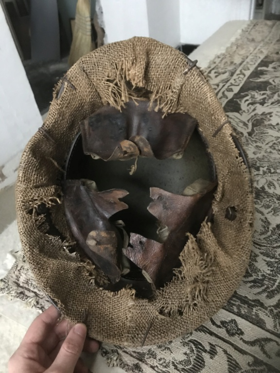 Toile casque allemand WW1 45c6fa10