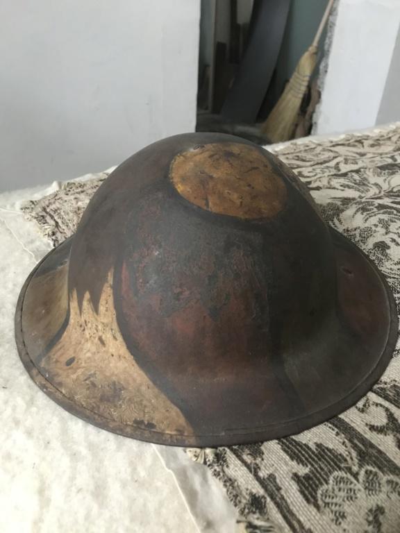 Camouflage casque anglais WW1 645e3710