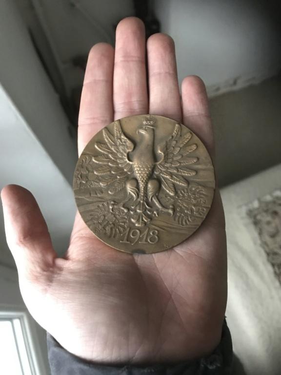 Médaille/pièce polonaise  7d139c10