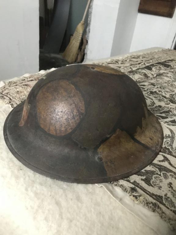 Camouflage casque anglais WW1 994b4710