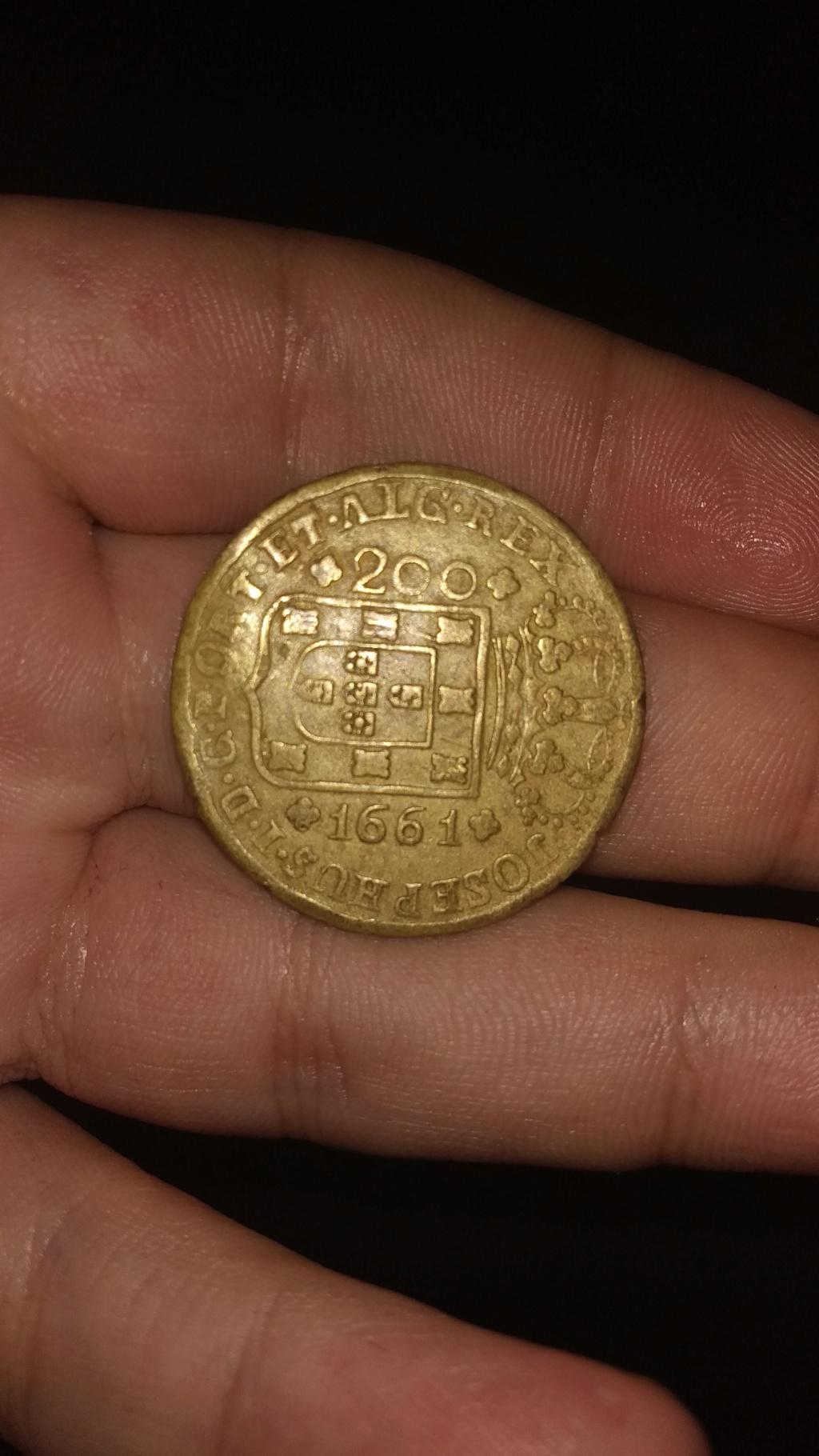 200 Reis de 1661. Brasil Img-2012