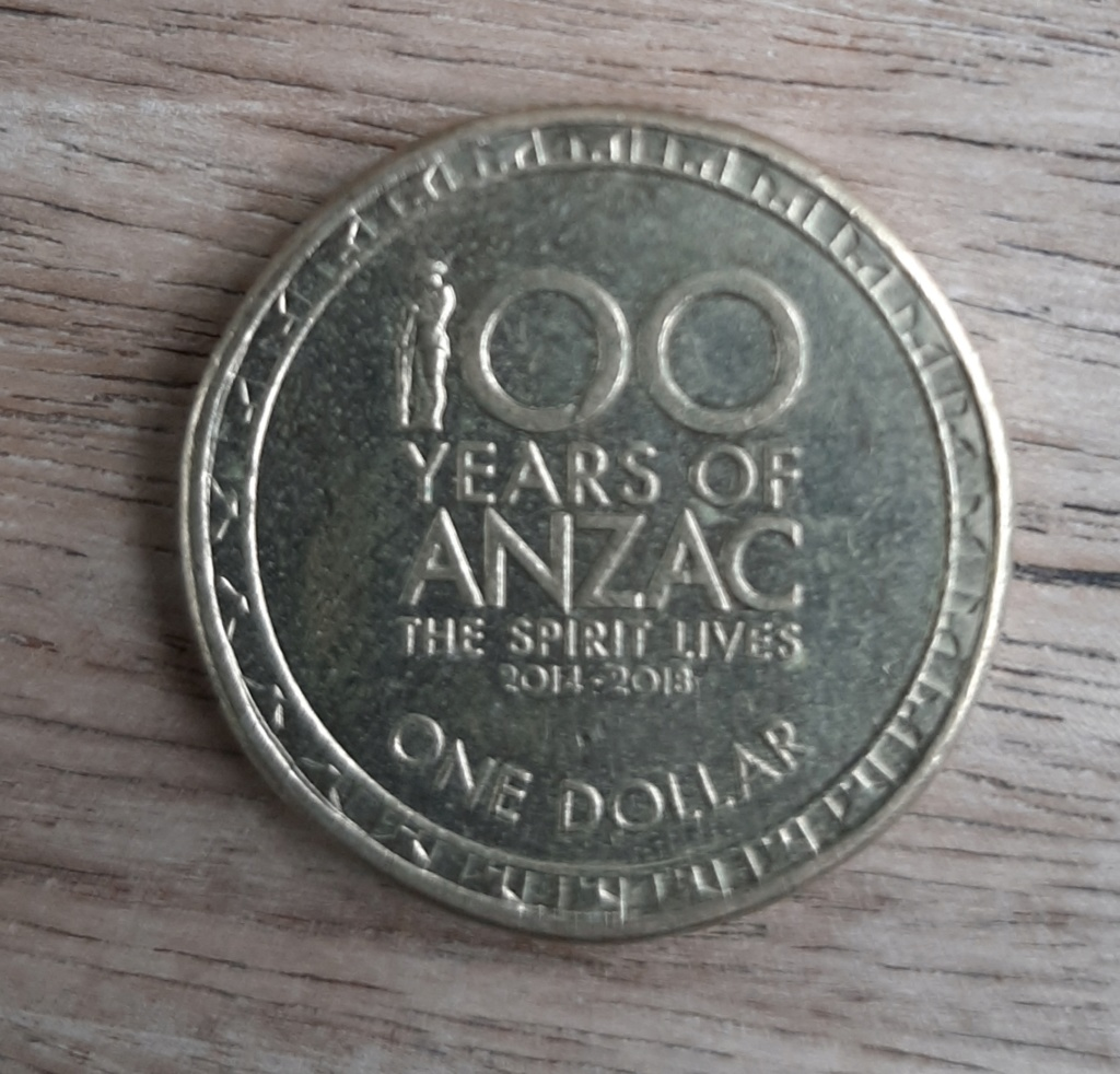 1 Dólar Australia 2014 20200416