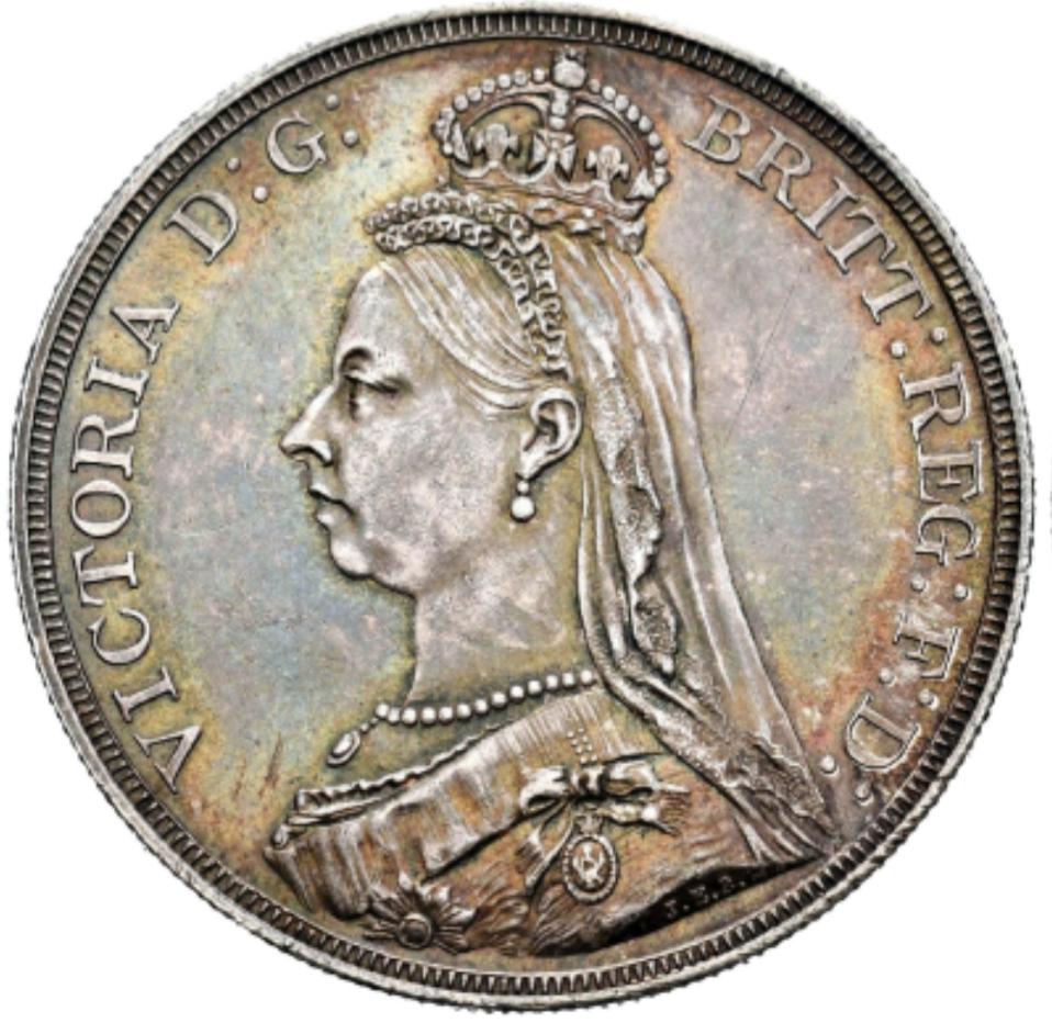 1 Corona 1887 Gran Bretaña 20200426