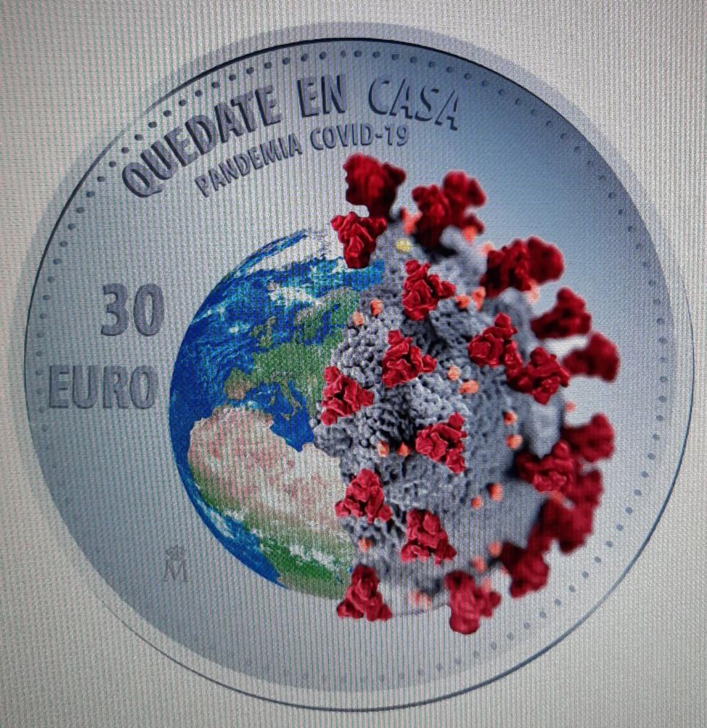 La del evento: Lanzan moneda conmemorativa del coronavirus en Estados Unidos 20200513