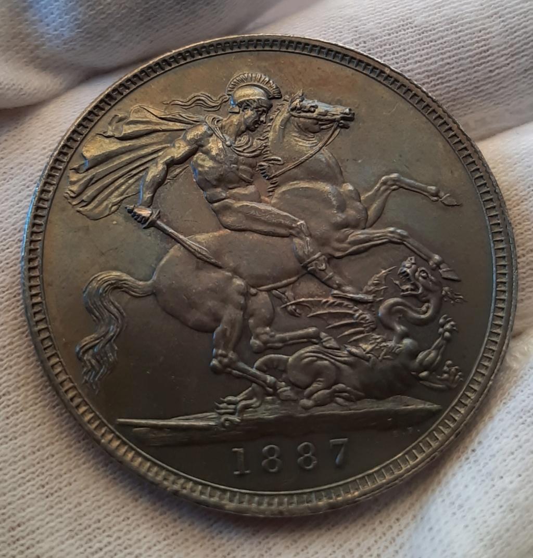 1 Corona 1887 Gran Bretaña 20200711