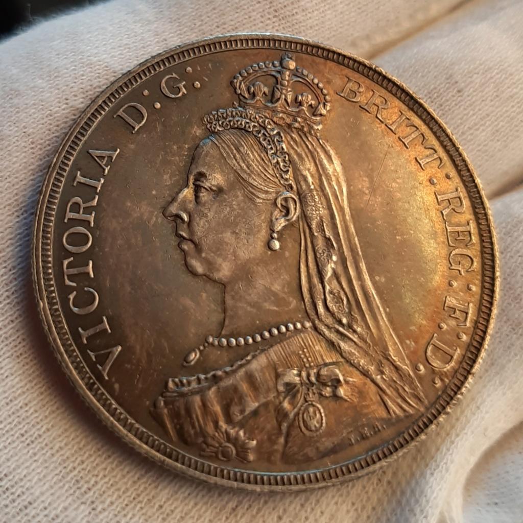 1 Corona 1887 Gran Bretaña 20200712