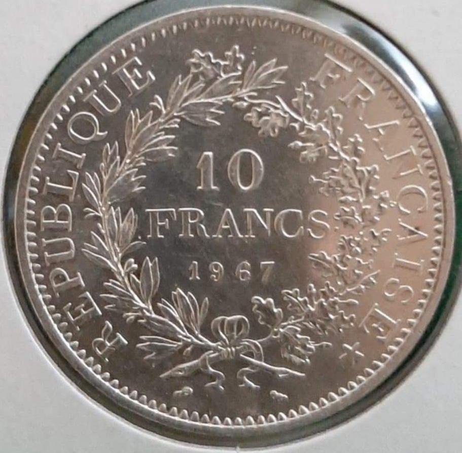 10 Francos 1967 Francia 20200721