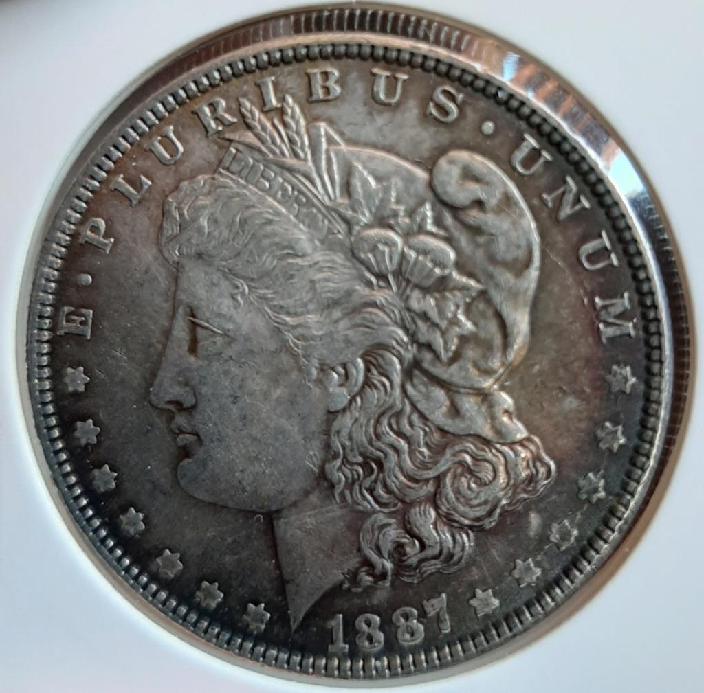1 dolar 1887 tipo Morgan 20200812