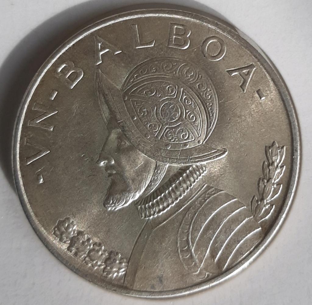 1 Balboa, Panamá, 1947 - Dedicada a Lanzarote 20201111