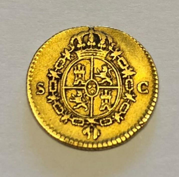 Duda con 1/2 escudo Carlos III 1788 Screen12