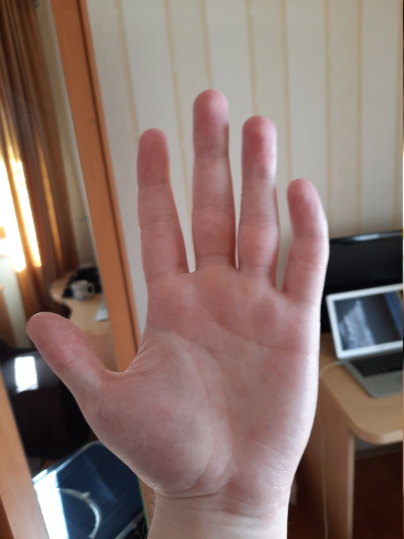 Palm reading - 25/M right handed 20210310