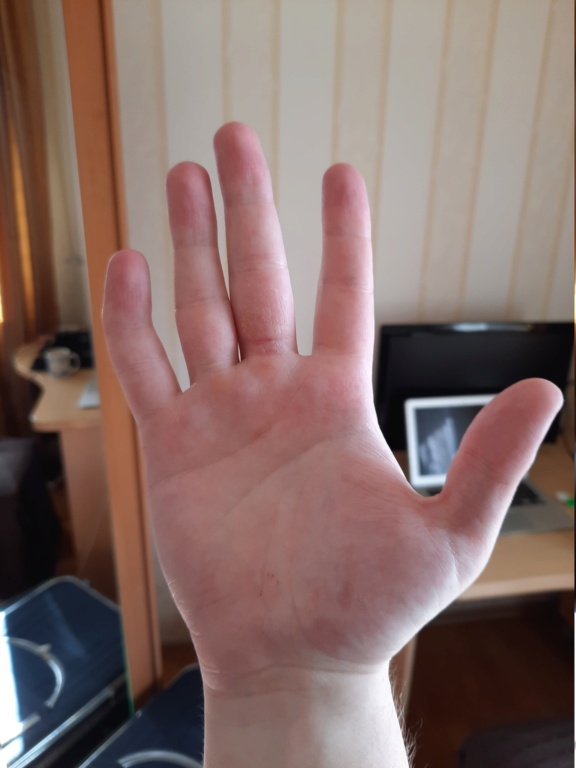 Palm reading - 25/M right handed 20210311