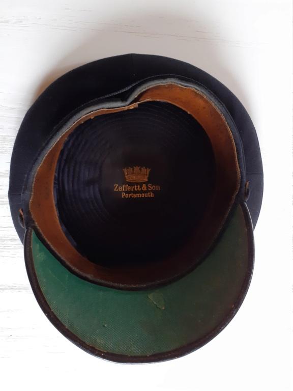 casquette officier Royal Navy WW2 20210114