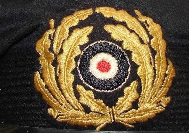 Insigne sur casquette officier marinier km 20210520
