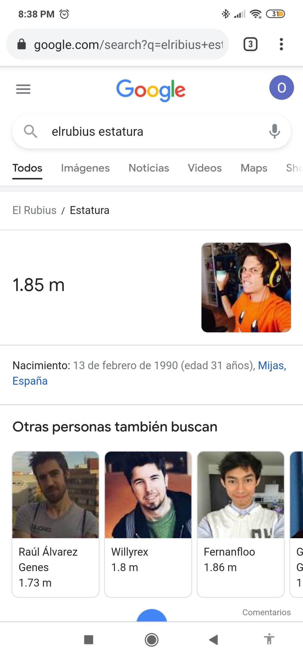 ¿Cuánto mide El Rubius? - Estatura real sin zapatillas: 1,85 - Real height - Página 15 Screen10
