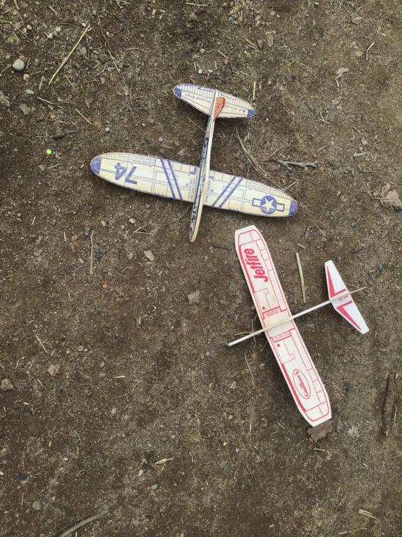 Vintage balsa gliders 929a6410