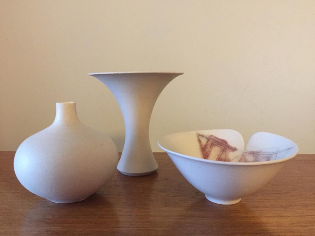 Studio pottery group, LK mark - Laurel Keeley  03620710