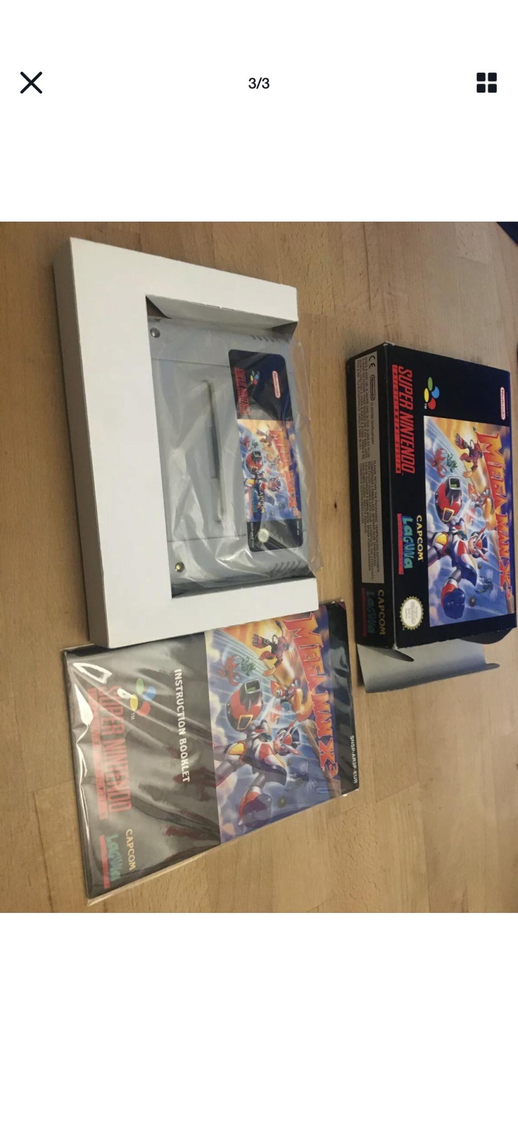 Avis - Mega Man X 3: cote et authenticité  50f70510