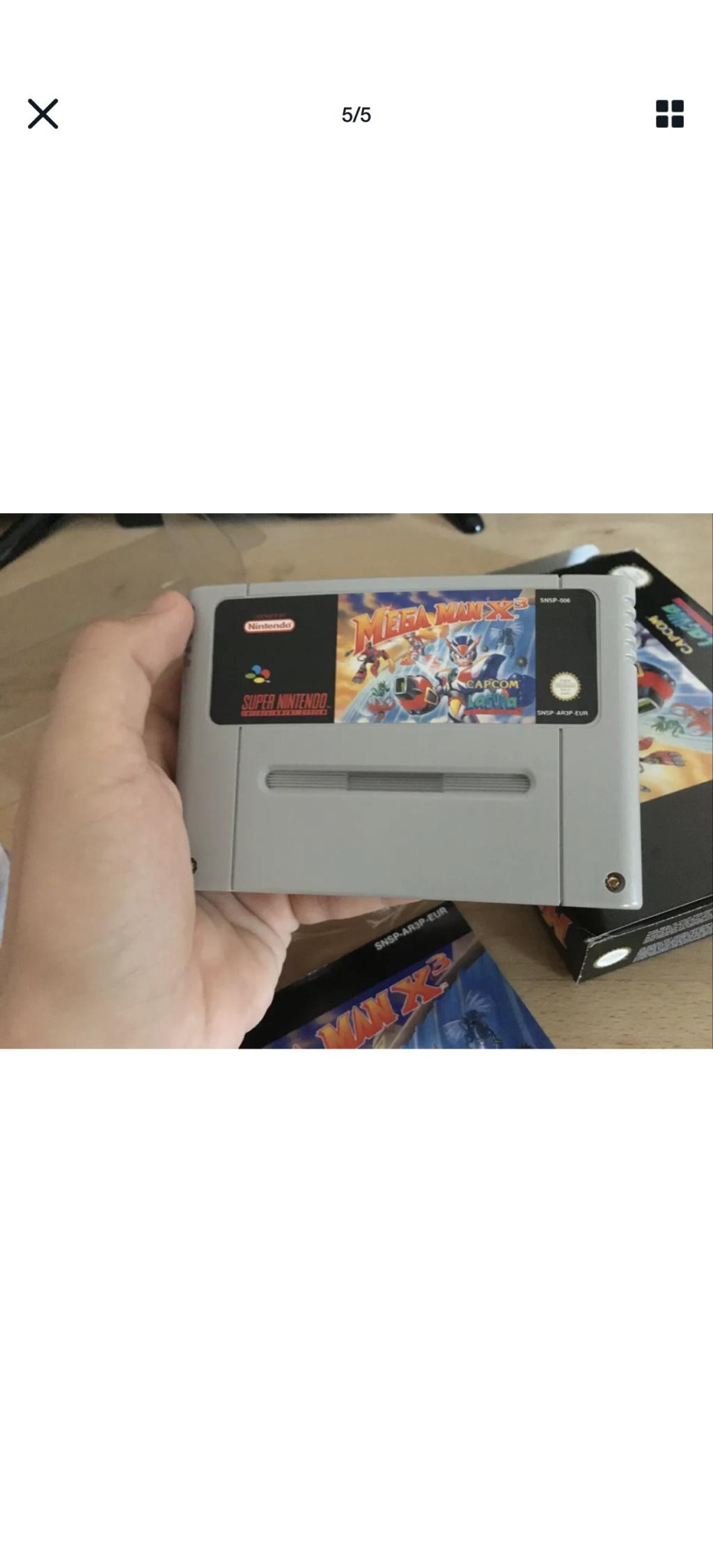 Avis - Mega Man X 3: cote et authenticité  8db69610
