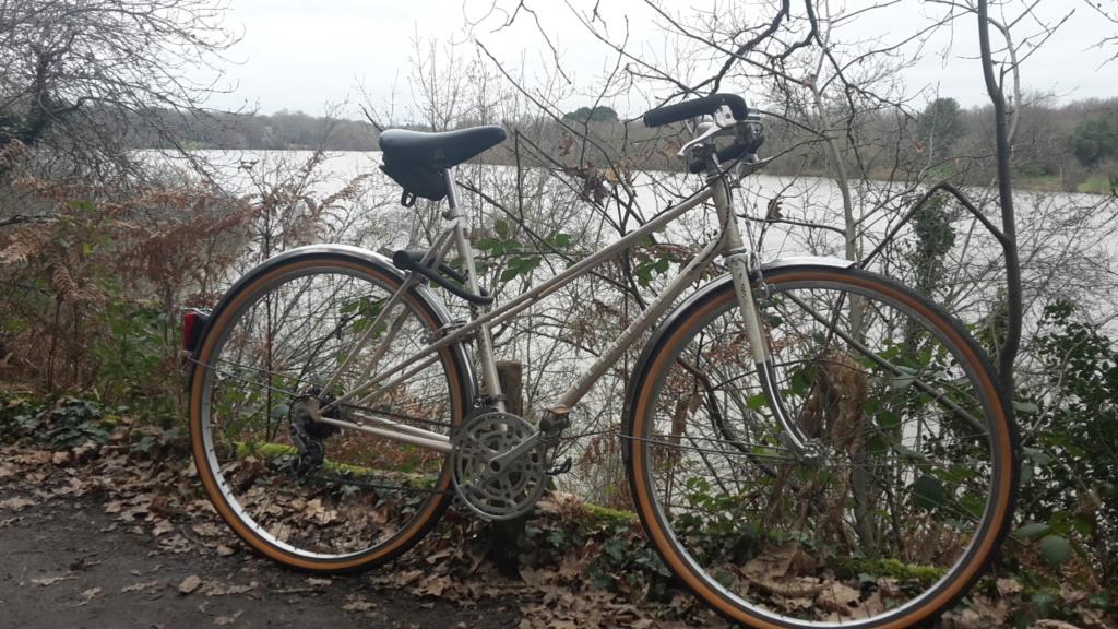 Peugeot mixte, vélo de ville à la campagne, 1980 20210116