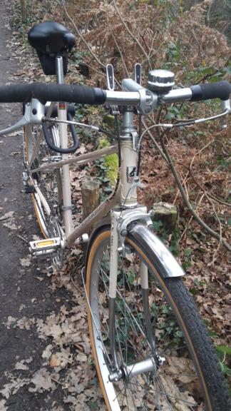 Peugeot mixte, vélo de ville à la campagne, 1980 20210117