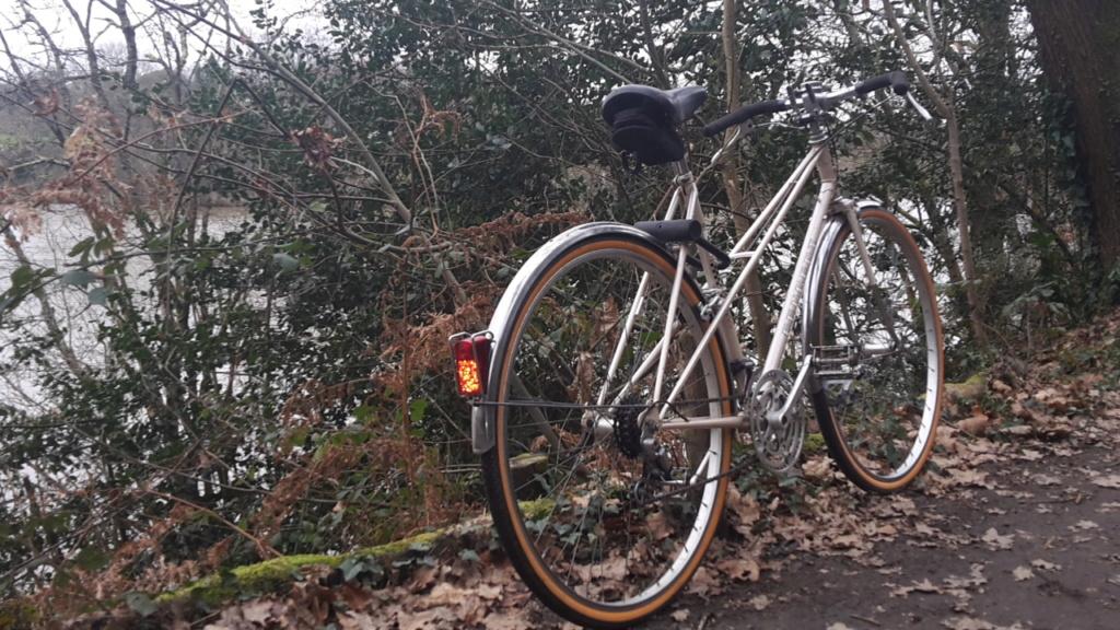 Peugeot mixte, vélo de ville à la campagne, 1980 20210118
