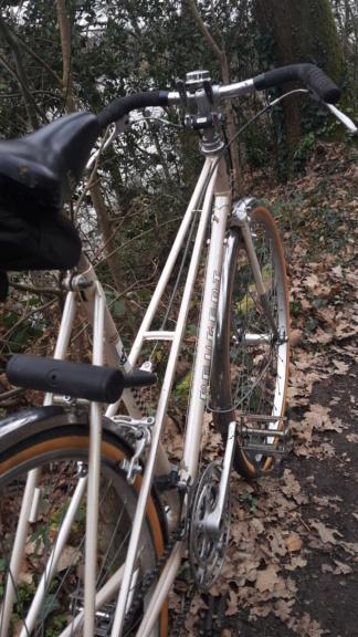 Peugeot mixte, vélo de ville à la campagne, 1980 20210119
