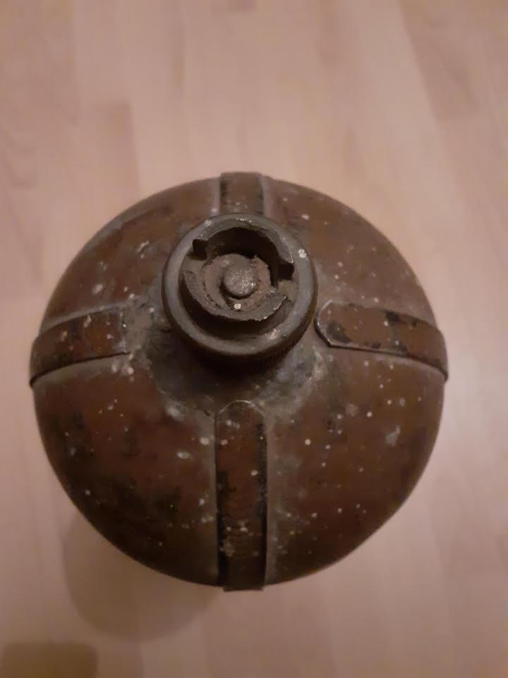 Bombonne de gaz datée 1916 Bg110