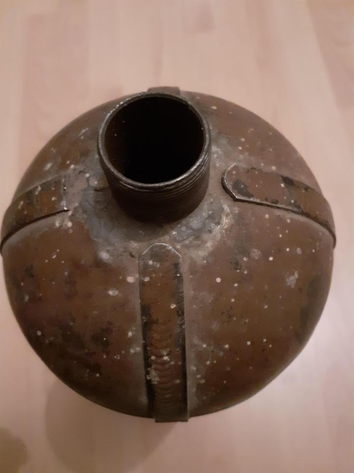 Bombonne de gaz datée 1916 Bg310