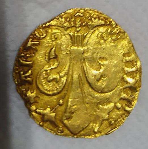 Florín de Alfonso V de Aragón. Valencia 0410