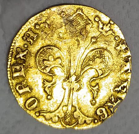 Florín de Alfonso V de Aragón. Valencia 0610
