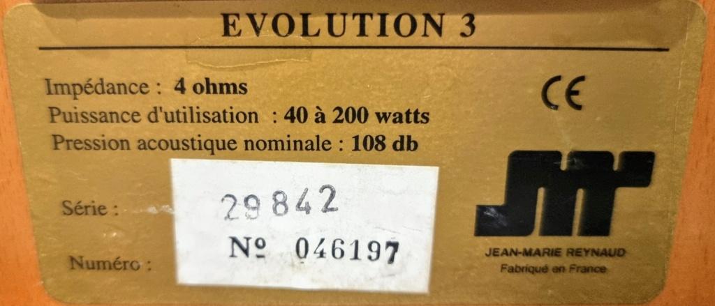 Pair of Jean Marie Reynaud - Evolution 3 speakers [SOLD] Jean_m13