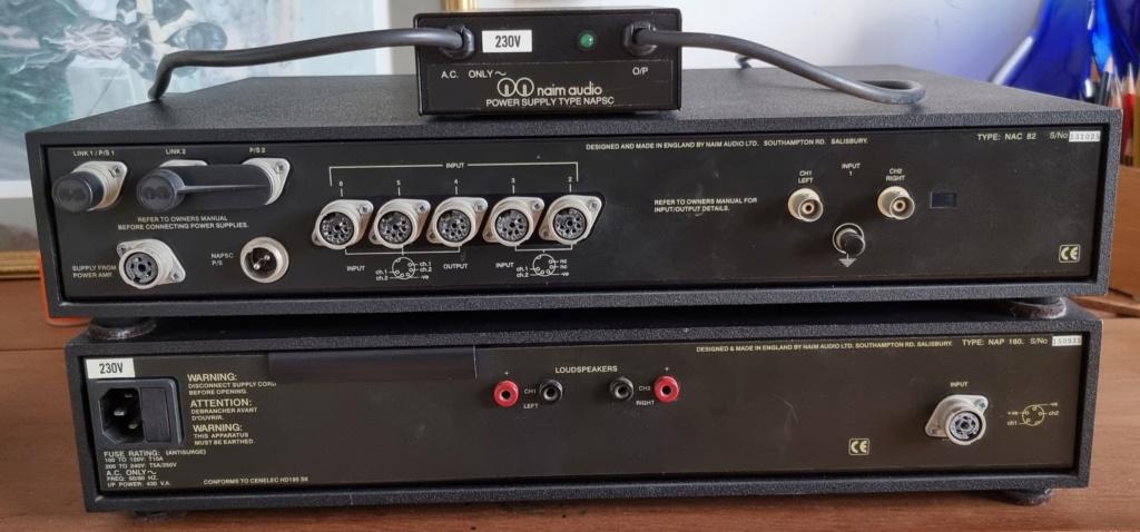 Naim NAC 82 Pre Amplifier & Naim NAP 180 Power Amplifier with a Naim NAPSC Power Supply (Used) [SOLD] Naim_b10