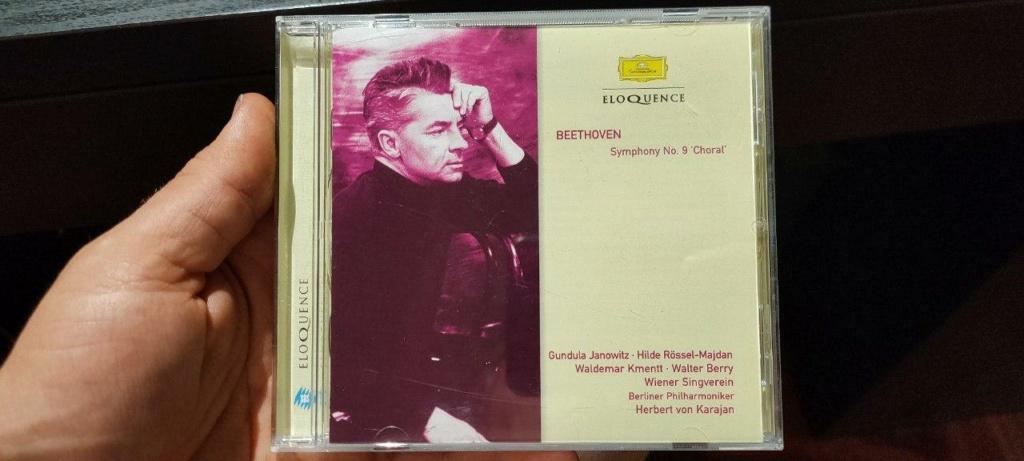 Beethoven, Sinfonia n. 9  della DG diretta da von Karajan nel 1963 Beetho10