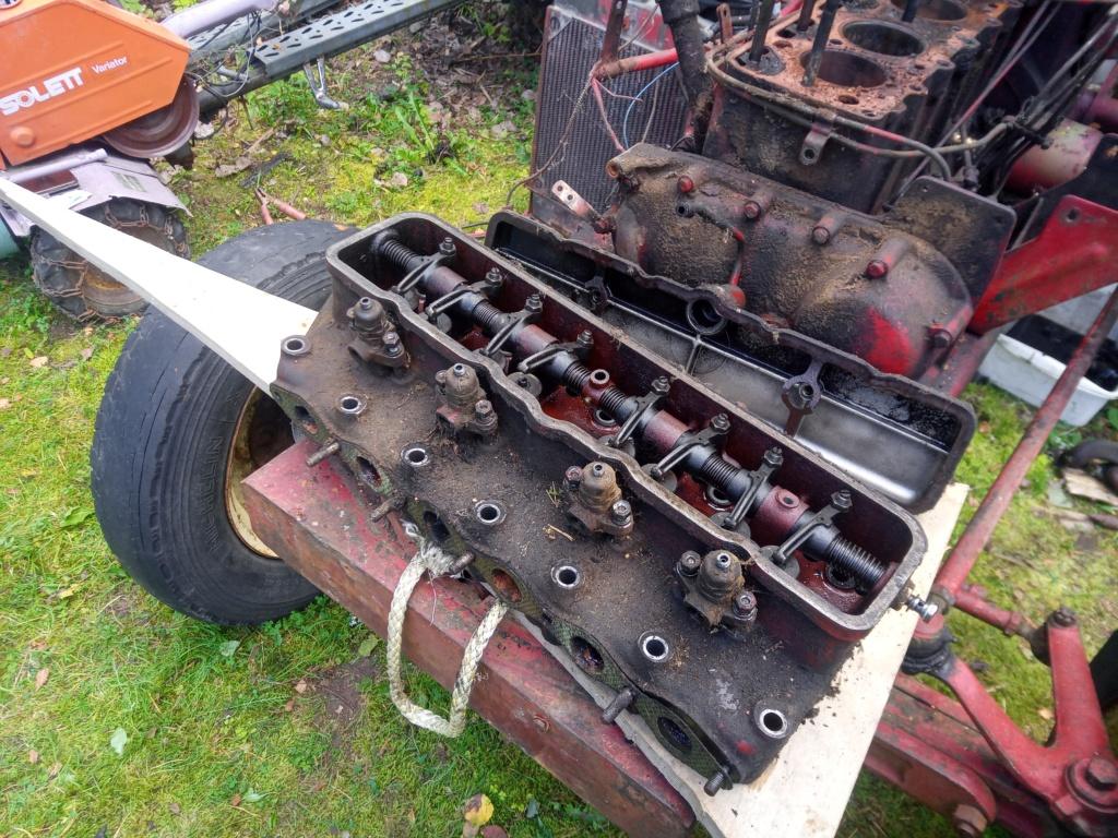 DB 950 Implematic moottorin vaihto Img_2014