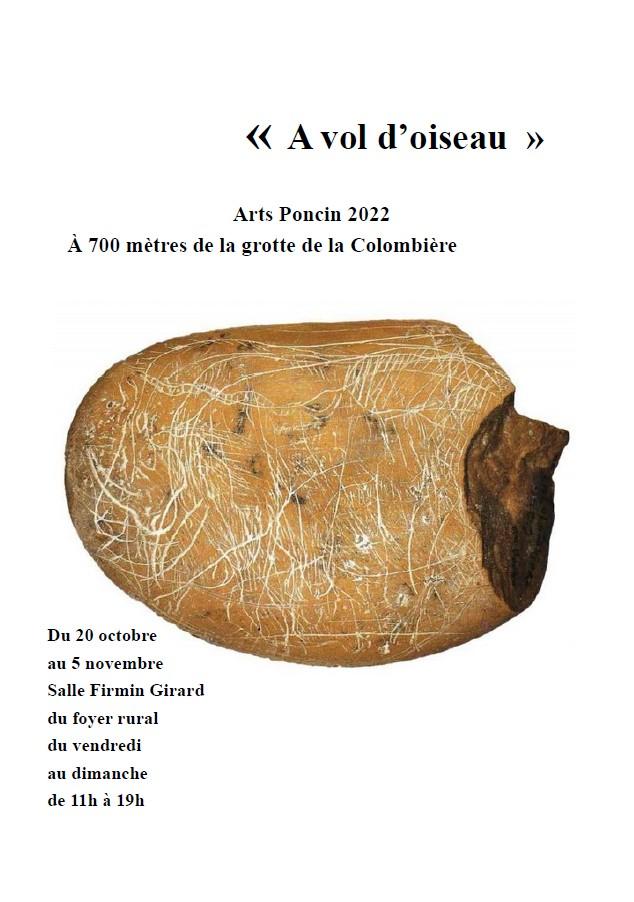 Galets et os gravés magdaléniens de la grotte de la Colombière (Neuville sur Ain / Poncin) Affich10