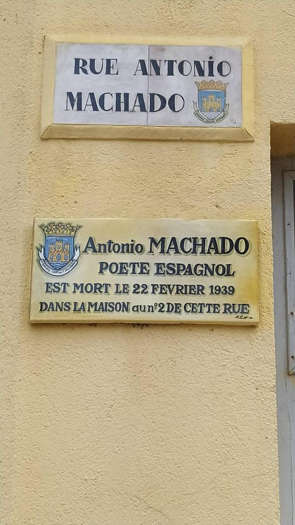Walter Benjamin (et Antonio Machado) Machad11