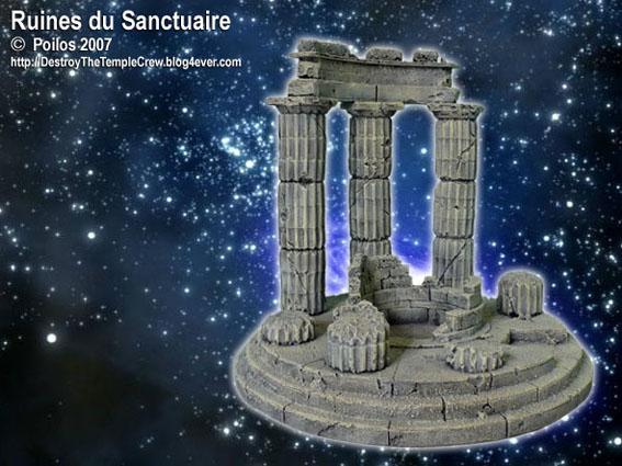 Vends décor type Sanctuaire Ruines10