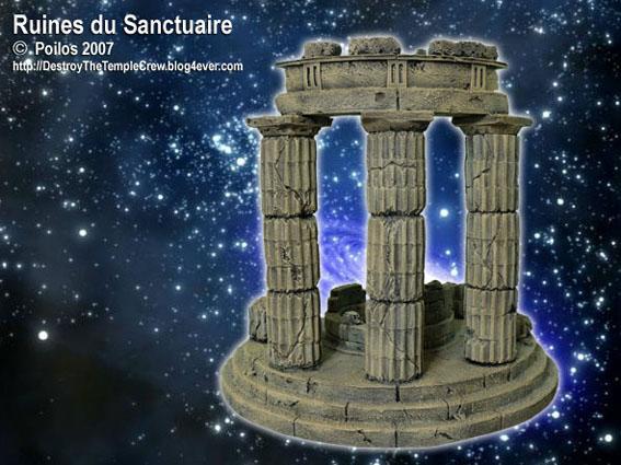 Vends décor type Sanctuaire Ruines11